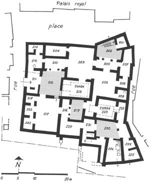Plan De La Villa Des Mysteres